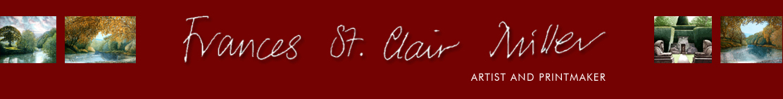 The website of Frances St Clair Miller