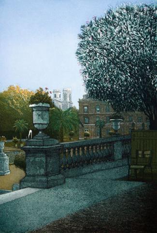 Luxembourg Gardens - Dawn