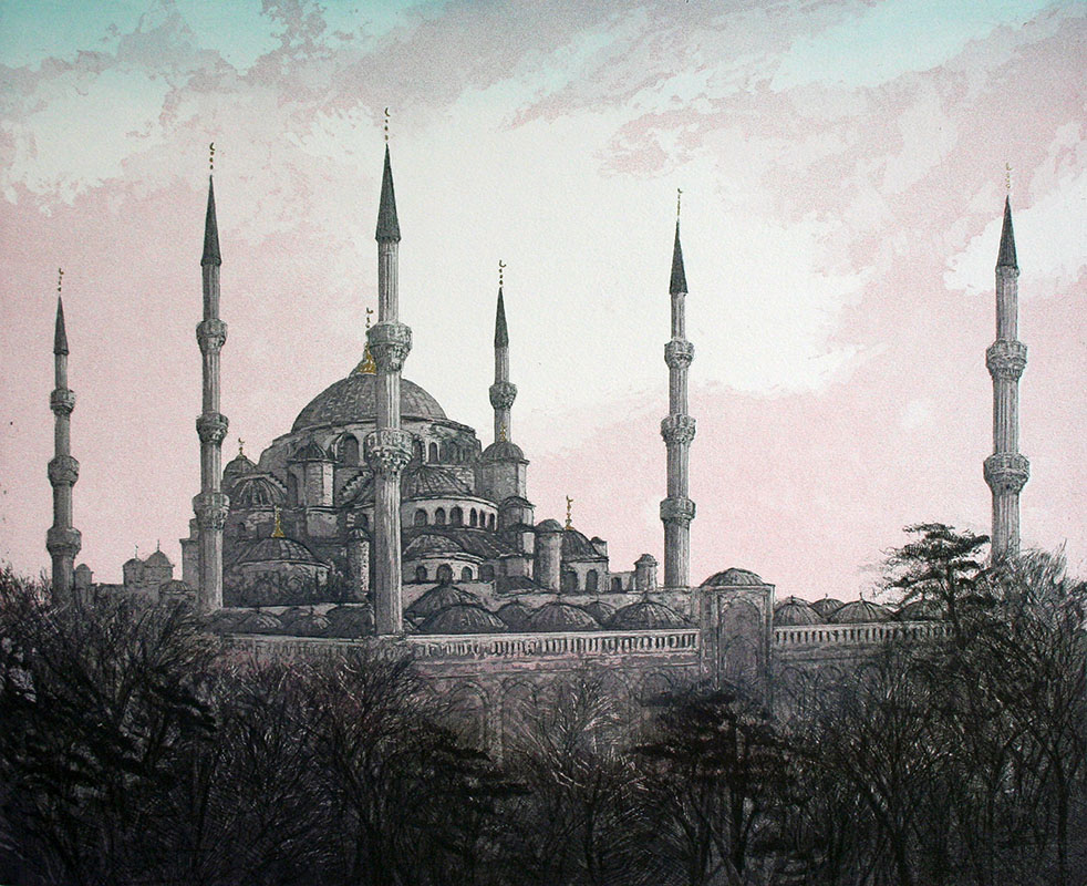The Sultan Ahmet Mosque - Istanbul