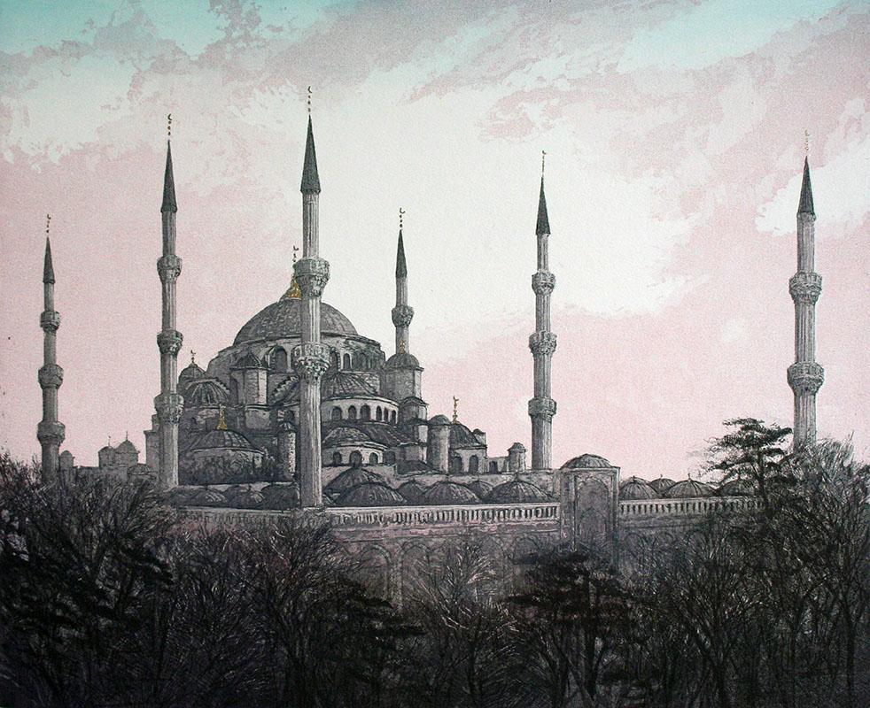 The Sultan Ahmet Mosque - Istanbul