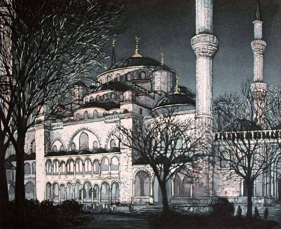 The Sultan Ahmet Mosque - Istanbul, Evening