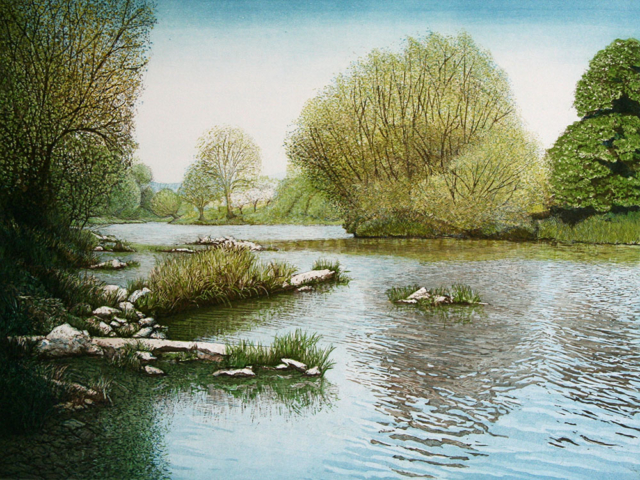 Spring on the River Wye I
