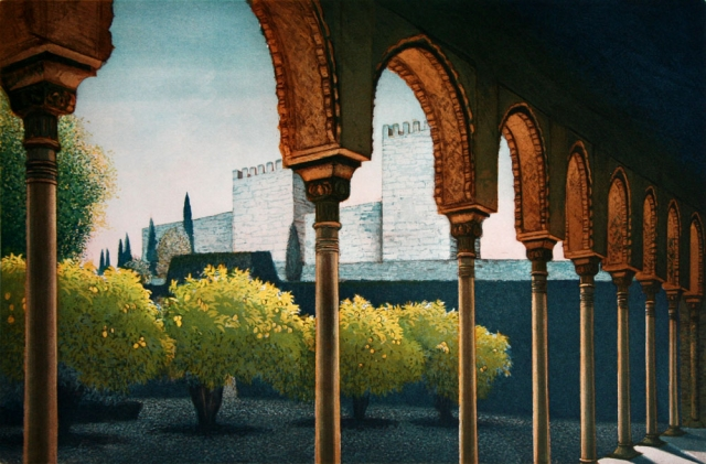 The Alcazar of the Alhambra Palace