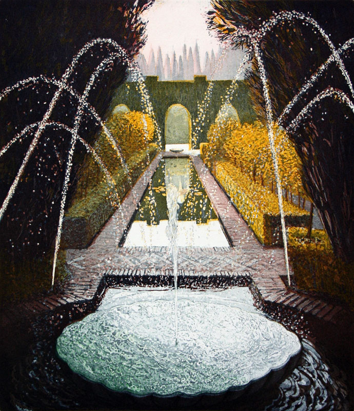 The Fountains of the Generalife I