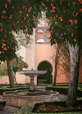 The Courtyard of the Lindaraxa