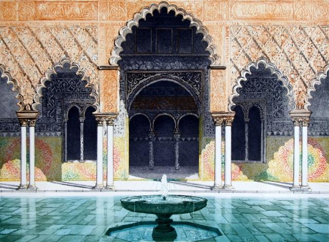 Palace Courtyard, Seville