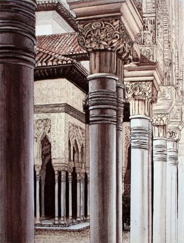 Lion Courtyard III