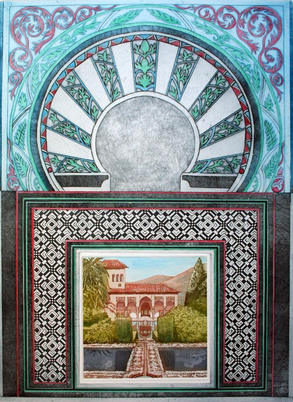 Moorish Palace - The Gardens of the Portal
