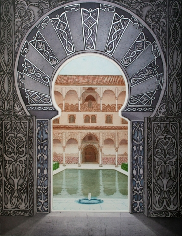 Moorish Palace -  Courtyard of the Myrtles