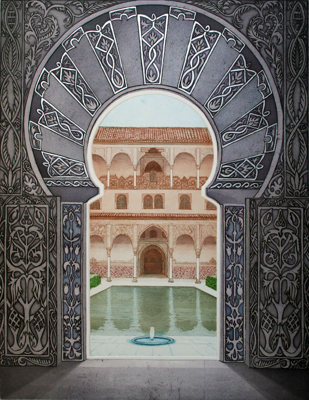 Moorish Palace -  Courtyard of the Myrtles
