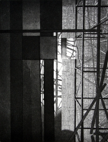 Barcelona VII - Sagrada Familia Scaffolding I