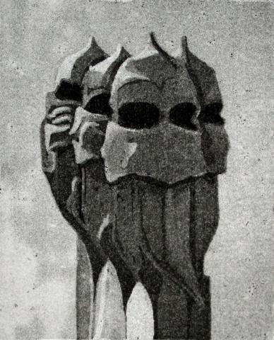 Barcelona XVIII - Four Helmets