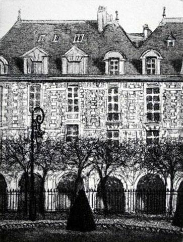 Paris IV  Place des Vosges