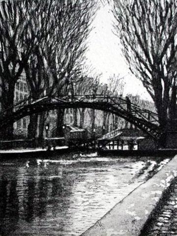 Paris X  Le Canal St Martin