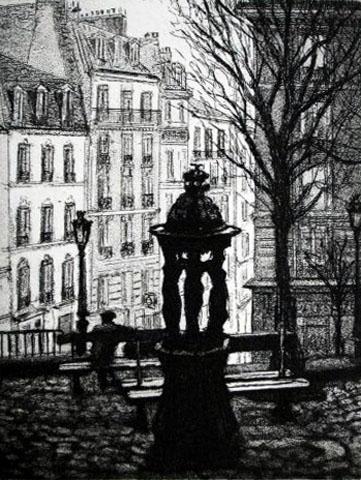 Paris XVIII  Rue Ravignan